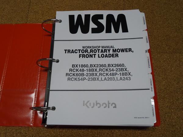 Kubota Bx1860 Manual Pdf